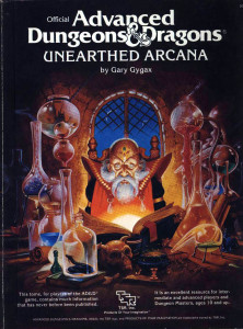Not the same Unearthed Arcana