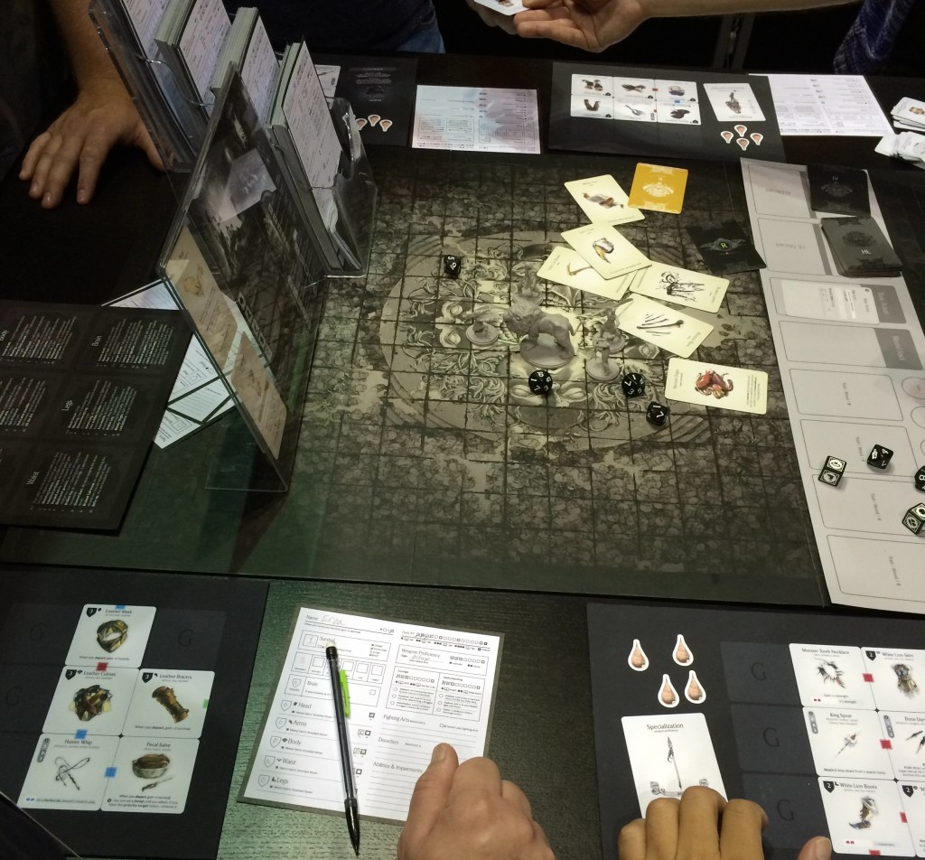 Kingdom Death: Monster Demo at GenCon